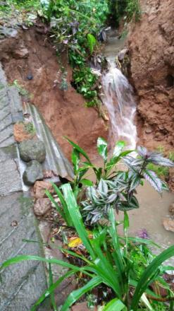 Bencana Alam di Desa Gesing