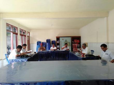 Rapat pembentukan pengisian anggota BPD Desa Gesing