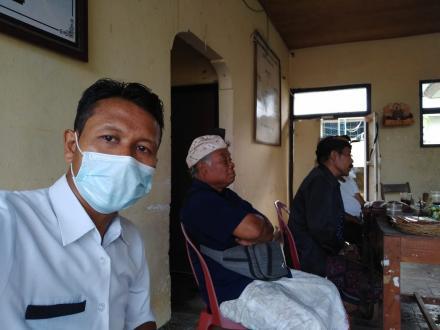 Rapat pembahasan piodal pura subak di masa pandemi covid-19