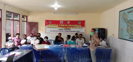 Bimtek Pokja Relawan Pendataan Desa Berbasis SDGs